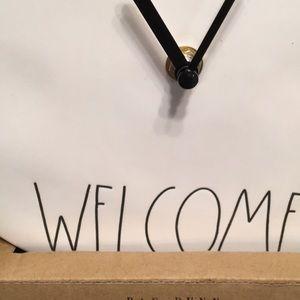Rae Dunn Accents - RAE DUNN Clock, New in box!🖤